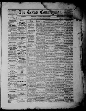The Texas Countryman. (Bellville, Tex.), Vol. 7, No. 5, Ed. 1 Friday, February 1, 1867