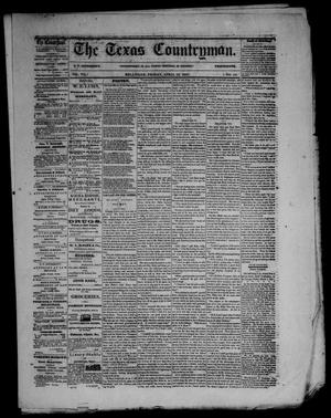 Primary view of object titled 'The Texas Countryman. (Bellville, Tex.), Vol. 7, No. 13, Ed. 1 Friday, April 19, 1867'.
