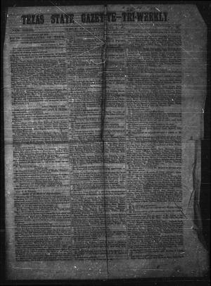 Primary view of Texas State Gazette - Tri-Weekly. (Austin, Tex.), No. 26, Ed. 1 Wednesday, February 1, 1854