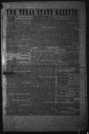 Primary view of object titled 'The Texas State Gazette. Tri-Weekly. (Austin, Tex.), Vol. 1, No. 13, Ed. 1 Monday, December 7, 1857'.