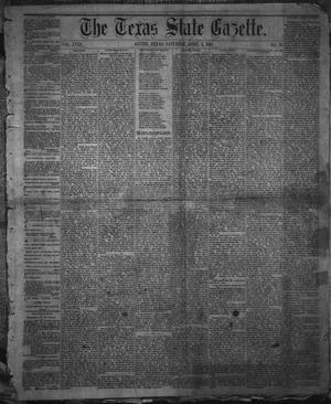 Primary view of object titled 'The Texas State Gazette. (Austin, Tex.), Vol. 18, No. 28, Ed. 1 Saturday, April 6, 1867'.