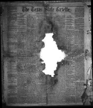 Primary view of object titled 'The Texas State Gazette. (Austin, Tex.), Vol. 18, No. 33, Ed. 1 Saturday, May 11, 1867'.