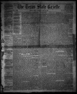 Primary view of object titled 'The Texas State Gazette. (Austin, Tex.), Vol. 18, No. 43, Ed. 1 Saturday, July 13, 1867'.