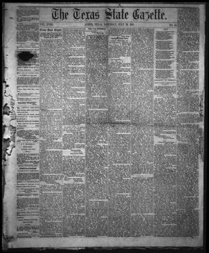 Primary view of object titled 'The Texas State Gazette. (Austin, Tex.), Vol. 18, No. 44, Ed. 1 Saturday, July 20, 1867'.
