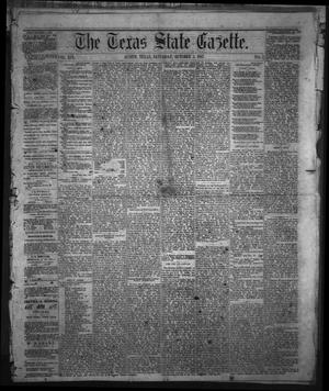 Primary view of object titled 'The Texas State Gazette. (Austin, Tex.), Vol. 19, No. 3, Ed. 1 Saturday, October 5, 1867'.