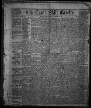 Primary view of object titled 'The Texas State Gazette. (Austin, Tex.), Vol. 19, No. 4, Ed. 1 Saturday, October 12, 1867'.