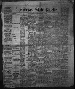Primary view of object titled 'The Texas State Gazette. (Austin, Tex.), Vol. 19, No. 6, Ed. 1 Saturday, October 26, 1867'.