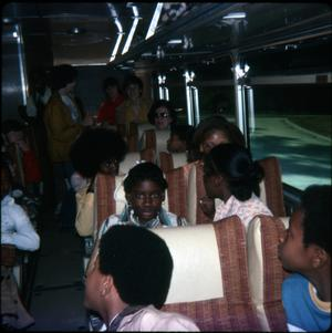 [Children's Group on a Bus Trip, Marshall]