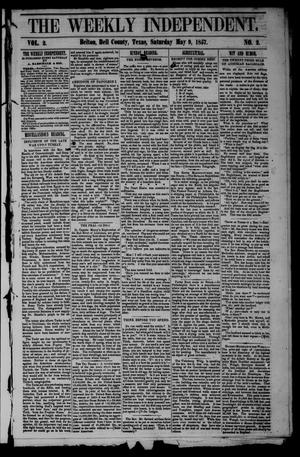 Primary view of object titled 'The Weekly Independent. (Belton, Tex.), Vol. 2, No. 2, Ed. 1 Saturday, May 9, 1857'.