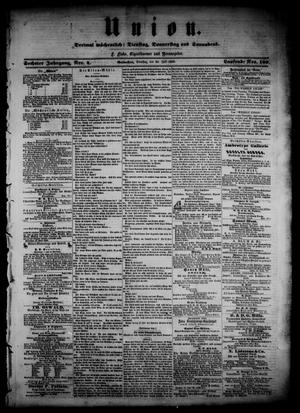 Union (Galveston, Tex.), Vol. 6, No. 4, Ed. 1 Tuesday, July 24, 1860