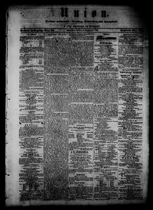 Union (Galveston, Tex.), Vol. 6, No. 22, Ed. 1 Monday, September 3, 1860
