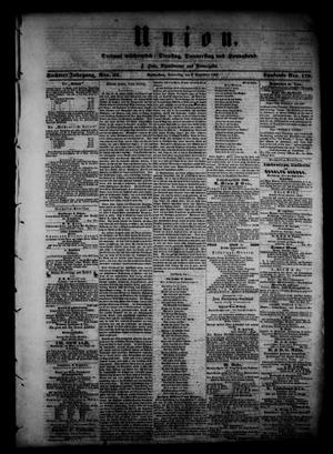 Union (Galveston, Tex.), Vol. 6, No. 23, Ed. 1 Thursday, September 6, 1860