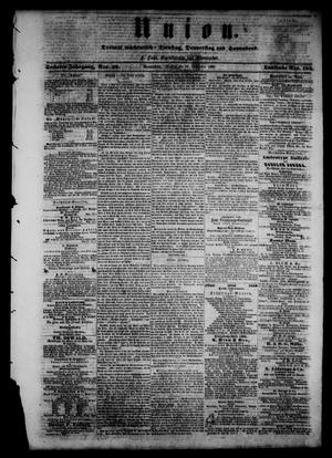 Union (Galveston, Tex.), Vol. 6, No. 28, Ed. 1 Tuesday, September 18, 1860