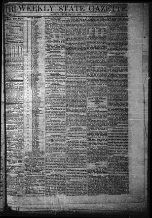 Primary view of object titled 'Tri-Weekly State Gazette. (Austin, Tex.), Vol. 3, No. 51, Ed. 1 Wednesday, May 25, 1870'.