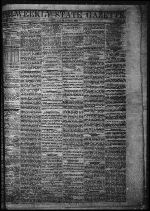 Primary view of object titled 'Tri-Weekly State Gazette. (Austin, Tex.), Vol. 3, No. 55, Ed. 1 Friday, June 3, 1870'.