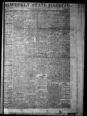 Primary view of object titled 'Tri-Weekly State Gazette. (Austin, Tex.), Vol. 3, No. 91, Ed. 1 Monday, August 29, 1870'.