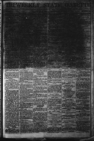 Primary view of object titled 'Tri-Weekly State Gazette. (Austin, Tex.), Vol. 5, No. 73, Ed. 1 Friday, May 31, 1872'.