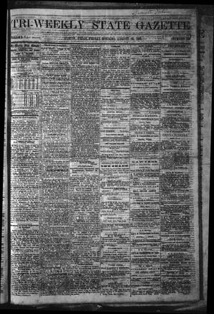 Primary view of object titled 'Tri-Weekly State Gazette. (Austin, Tex.), Vol. 5, No. 109, Ed. 1 Friday, August 23, 1872'.