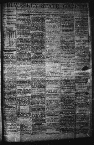 Primary view of object titled 'Tri-Weekly State Gazette (Austin, Tex.), Vol. 6, No. 13, Ed. 1 Friday, January 10, 1873'.
