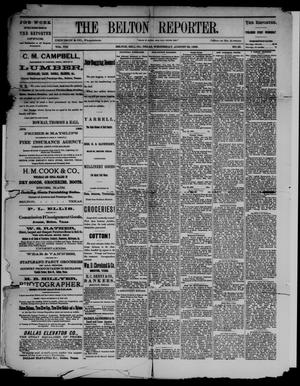 The Belton Reporter. (Belton, Tex.), Vol. 8, No. 35, Ed. 1 Wednesday, August 28, 1889