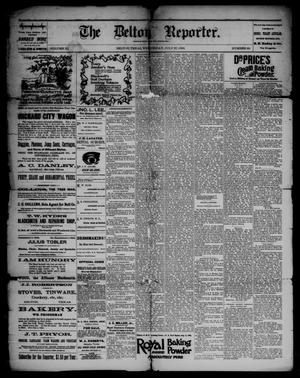 Primary view of object titled 'The Belton Reporter. (Belton, Tex.), Vol. 9, No. 30, Ed. 1 Wednesday, July 27, 1892'.