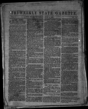 Tri-Weekly State Gazette. (Austin, Tex.), Vol. 1, No. 114, Ed. 1 Thursday, July 2, 1863