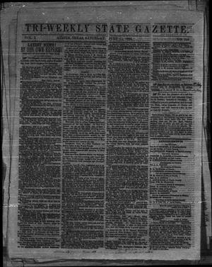 Tri-Weekly State Gazette. (Austin, Tex.), Vol. 1, No. 118, Ed. 1 Saturday, July 11, 1863