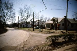 Primary view of object titled '[Residential Street, Marshall]'.