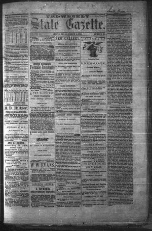 Primary view of object titled 'Tri-Weekly State Gazette. (Austin, Tex.), Vol. 2, No. 39, Ed. 1 Monday, March 1, 1869'.