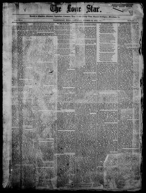 Primary view of The Lone Star. (Washington, Tex.), Vol. 4, No. 4, Ed. 1 Saturday, October 23, 1852