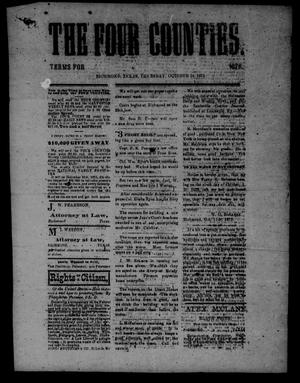 Primary view of object titled 'The Four Counties. (Richmond, Tex.), Ed. 1 Monday, October 14, 1875'.