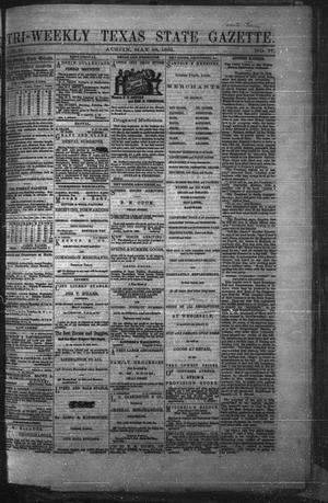 Primary view of Tri-Weekly Texas State Gazette. (Austin, Tex.), Vol. 2, No. 77, Ed. 1 Friday, May 28, 1869