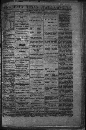 Primary view of object titled 'Tri-Weekly Texas State Gazette. (Austin, Tex.), Vol. 2, No. 99, Ed. 1 Monday, July 19, 1869'.