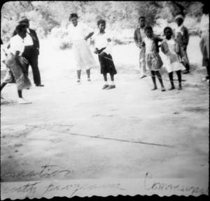 Primary view of object titled '[Children Playing Jump Rope]'.