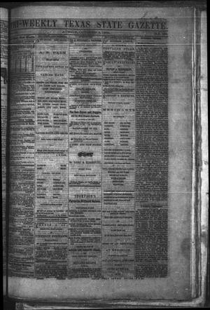 Primary view of object titled 'Tri-Weekly Texas State Gazette. (Austin, Tex.), Vol. 2, No. 132, Ed. 1 Monday, October 4, 1869'.