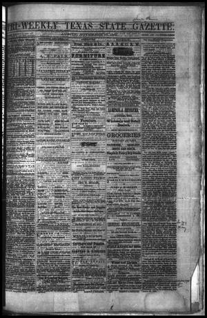 Primary view of object titled 'Tri-Weekly Texas State Gazette. (Austin, Tex.), Vol. 2, No. 150, Ed. 1 Monday, November 15, 1869'.