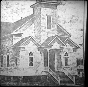 Primary view of object titled '[Bethesda Baptist Church, Marshall]'.