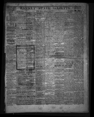 Primary view of object titled 'Weekly State Gazette. (Austin, Tex.), Vol. 29, No. 40, Ed. 1 Saturday, June 29, 1878'.