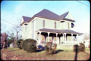 Primary view of object titled '[Historic Home, Marshall, Texas]'.