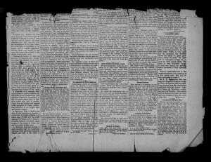 Primary view of object titled 'The Weekly Record. (Tyler, Tex.), Ed. 1 Saturday, July 20, 1889'.