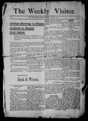 The Weekly Visitor. (San Augustine, Tex.), Vol. 1, No. 28, Ed. 1 Thursday, June 6, 1901