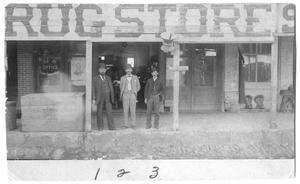Primary view of object titled '[Kindel's Drug Store]'.