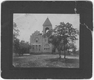 Primary view of object titled '[Texas Female Seminary campus building]'.