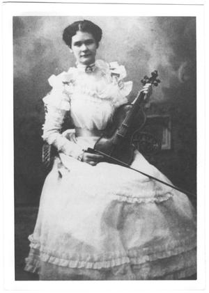 Primary view of object titled '[Juanita Presley Martin]'.