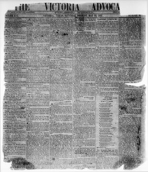 The Victoria Advocate. (Victoria, Tex.), Vol. 16, No. 38, Ed. 1 Saturday, May 24, 1862