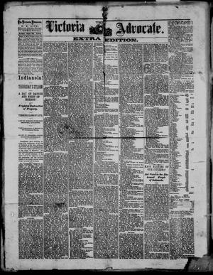 Primary view of object titled 'The Victoria Advocate. (Victoria, Tex.), Ed. 1 Friday, September 24, 1875'.