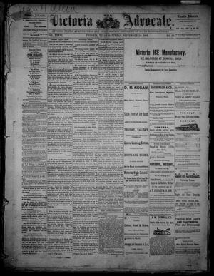 Primary view of object titled 'The Victoria Advocate. (Victoria, Tex.), Vol. 36, No. 26, Ed. 1 Saturday, September 30, 1882'.