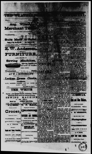 The Weatherford Daily Commercial (Weatherford, Tex.), Vol. 1, No. 301, Ed. 1 Tuesday, March 14, 1882