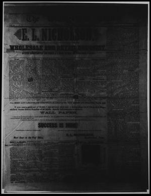 Primary view of object titled 'The Weatherford Times. (Weatherford, Tex.), Vol. 19, No. 27, Ed. 1 Saturday, July 3, 1886'.