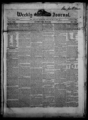 Weekly Journal. (Galveston, Tex.), Vol. 2, No. 14, Ed. 1 Tuesday, May 27, 1851